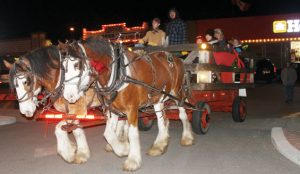 Old Fashioned Christmas ride